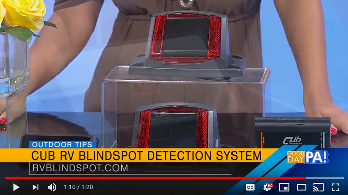 CUB - RV Blind Spot Featured on Good Day PA