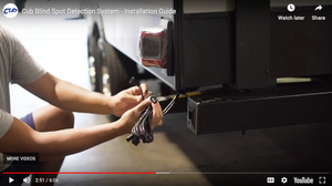 CUB RV Blind Spot Detector: Step-by-Step Installation Video Guide