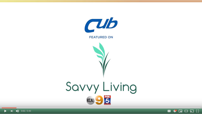 CUB RV Blind Spot Featured on Savvy Living