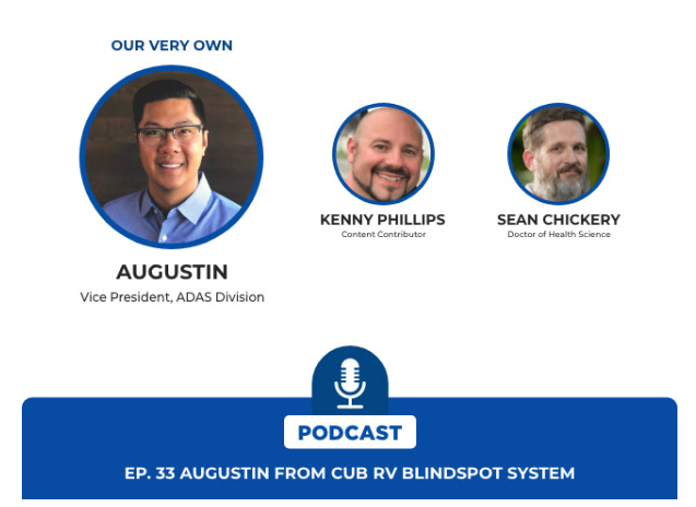 CUB RV Blind Spot on Beyond The Wheel Podcast (Dec 2019)