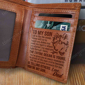 RV1030 - The Entire Ocean Is Yours - Wallet