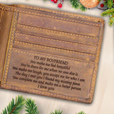 V1732 - You Complete Me - For Boyfriend Engraved Wallet