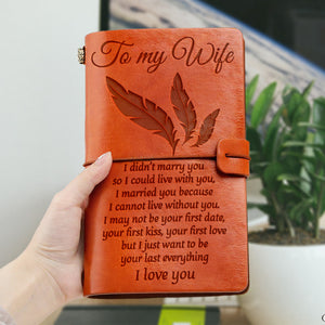 N1877 - I Cannot Live Without You - Notebook