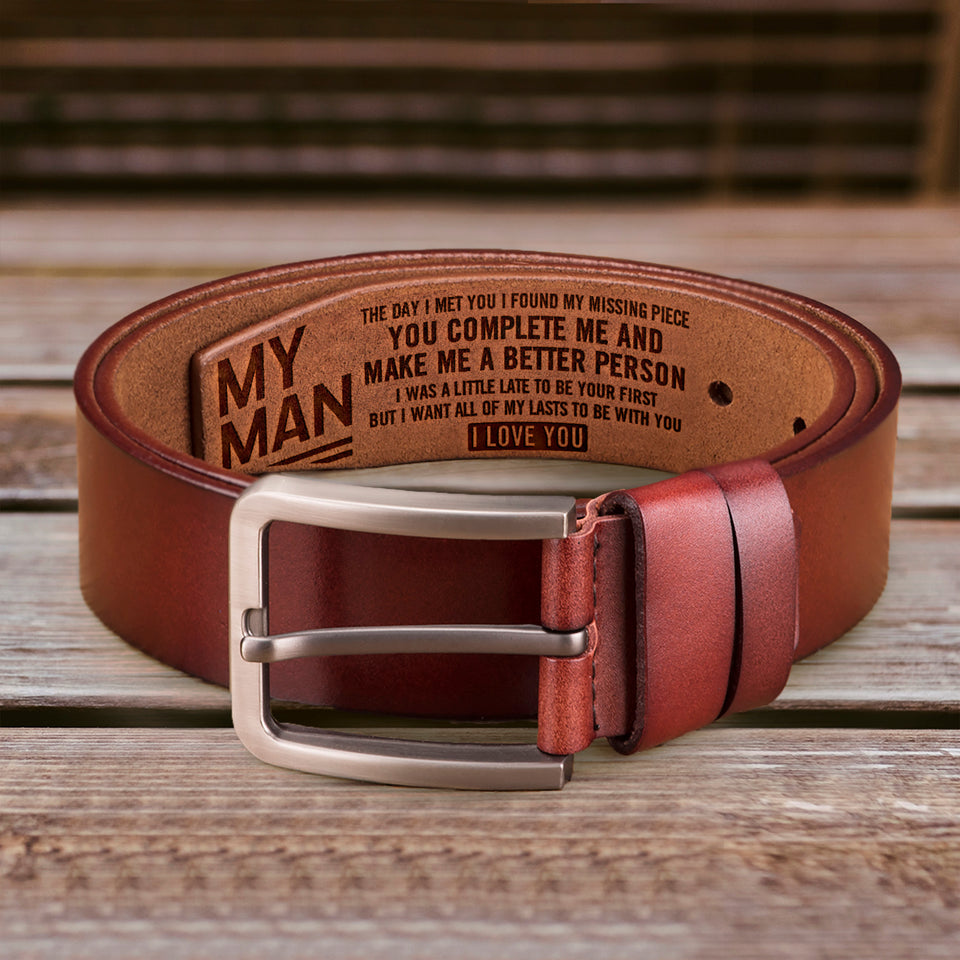 RB1925 - My Man, My Missing Piece - Belt