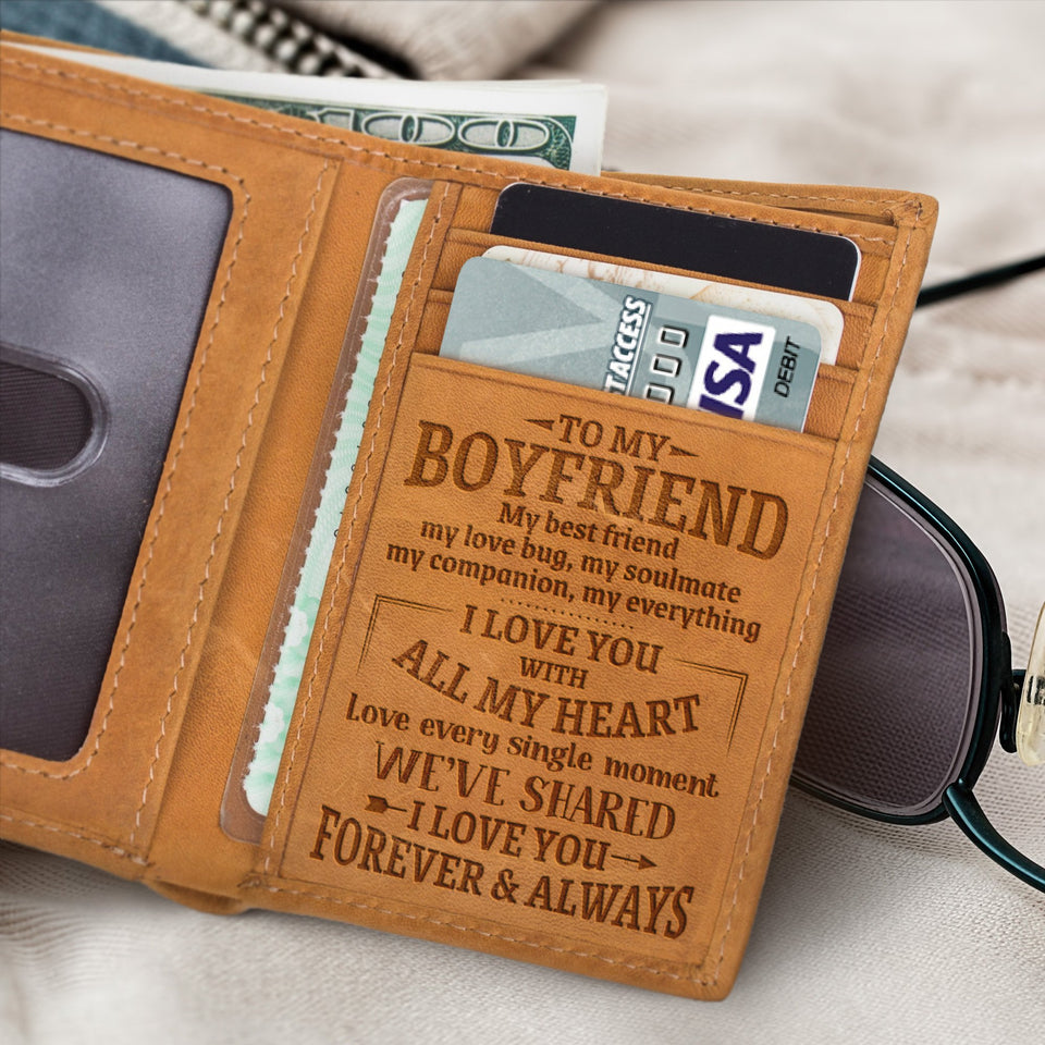 RE2002 - All My Heart - Trifold Wallet