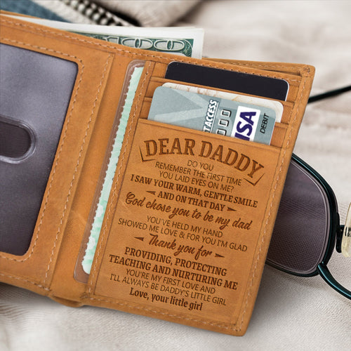 RE2026 - Daddy's Little Girl - Trifold Wallet