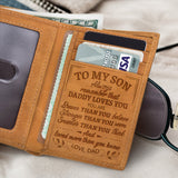 RE2068 - Daddy Loves You - Trifold Wallet