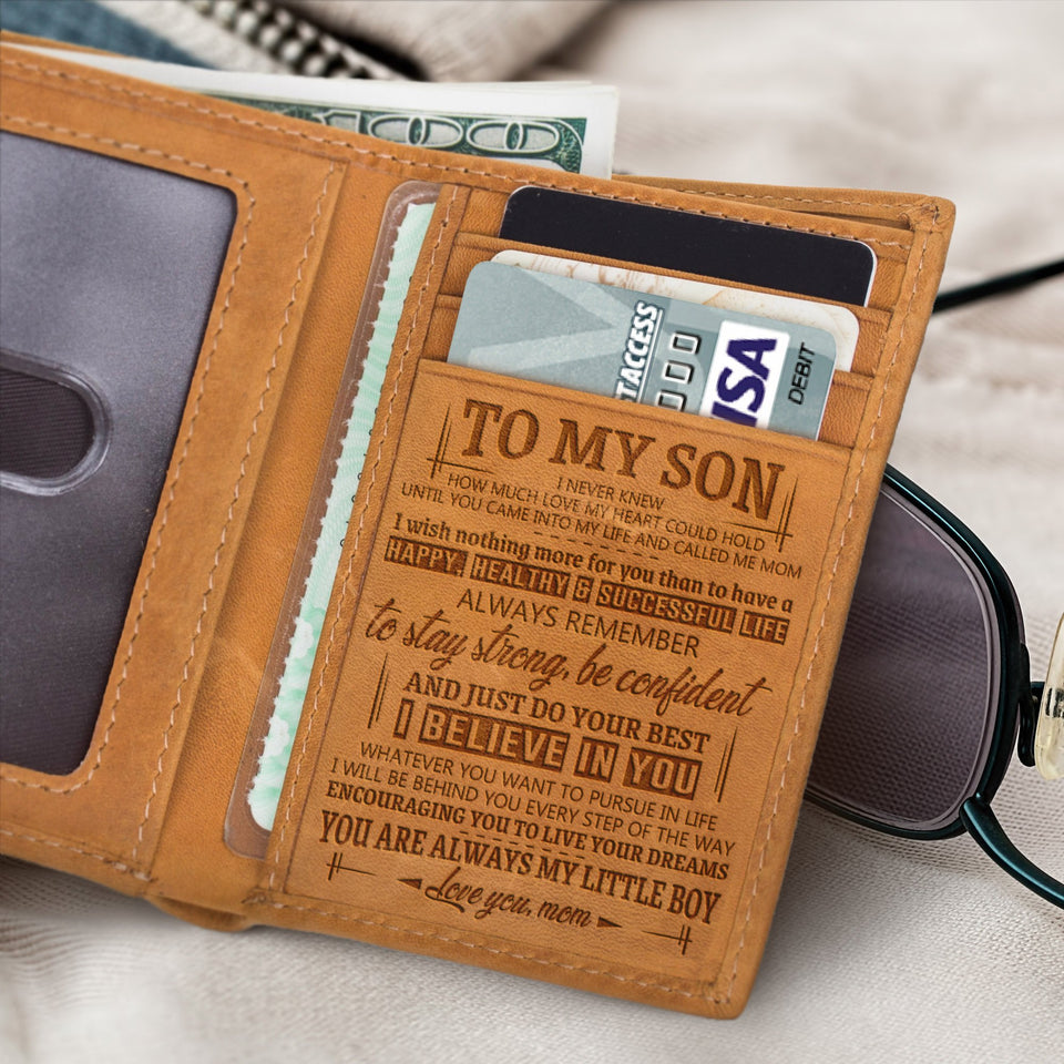 RE2079 - Live Your Dreams - Trifold Wallet