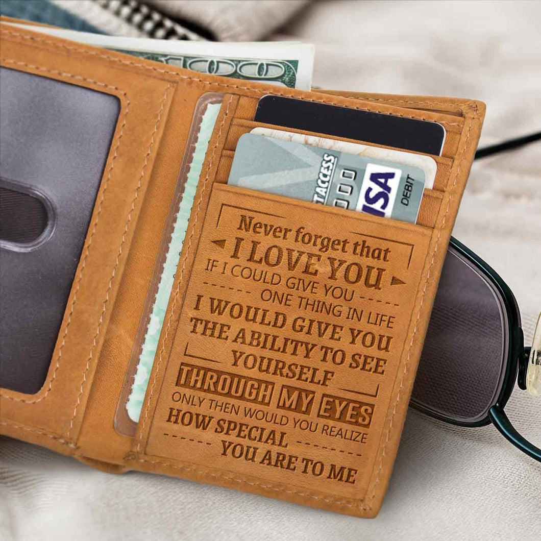 RE2109 - How Special You Are - Trifold Wallet