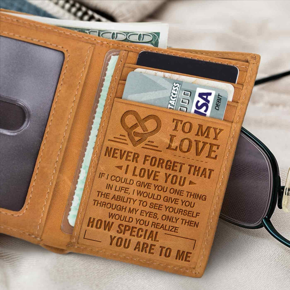 RE2180 - To My Love - Trifold Wallet