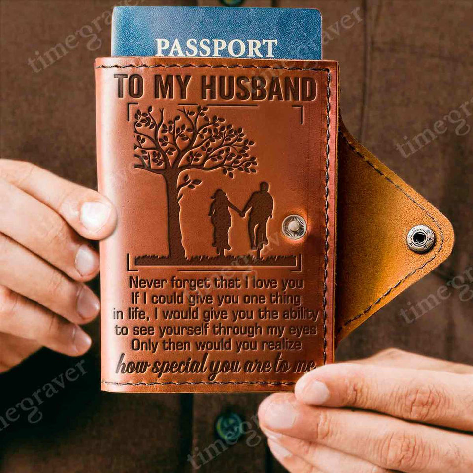 ZD2309 - I Love You - Passport Cover