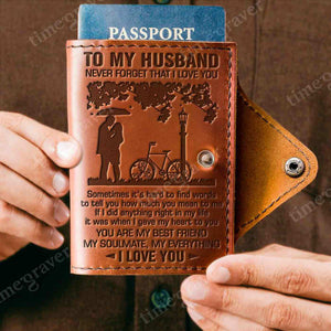 ZD2311 - My Soulmate - Passport Cover