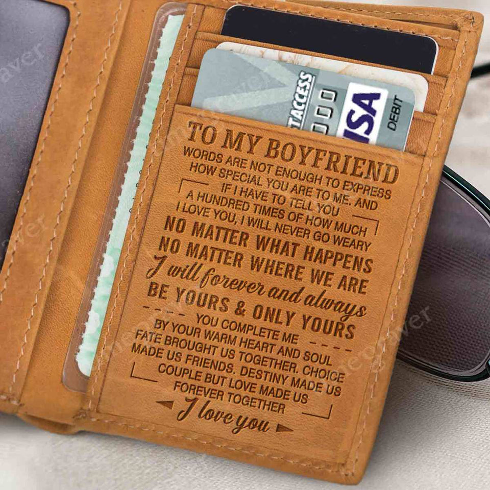RE2323 - Your Warm Heart - Trifold Wallet
