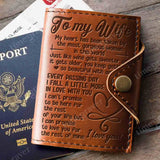ZD2448 - Beautiful With Age - Passport Cover