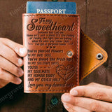 ZD2451 - My Human Diary - Passport Cover