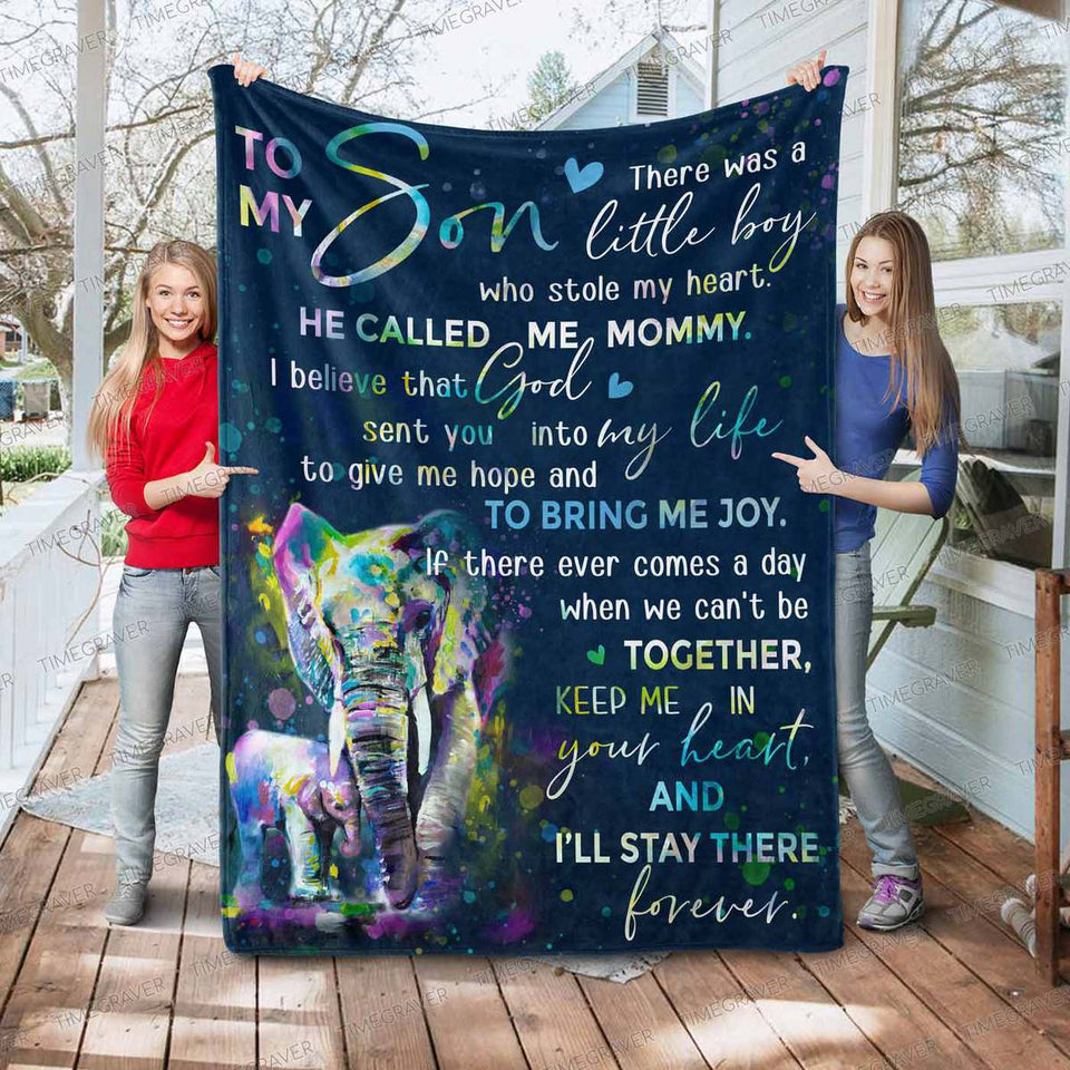RN2760 - He Called Me Mommy - Blanket