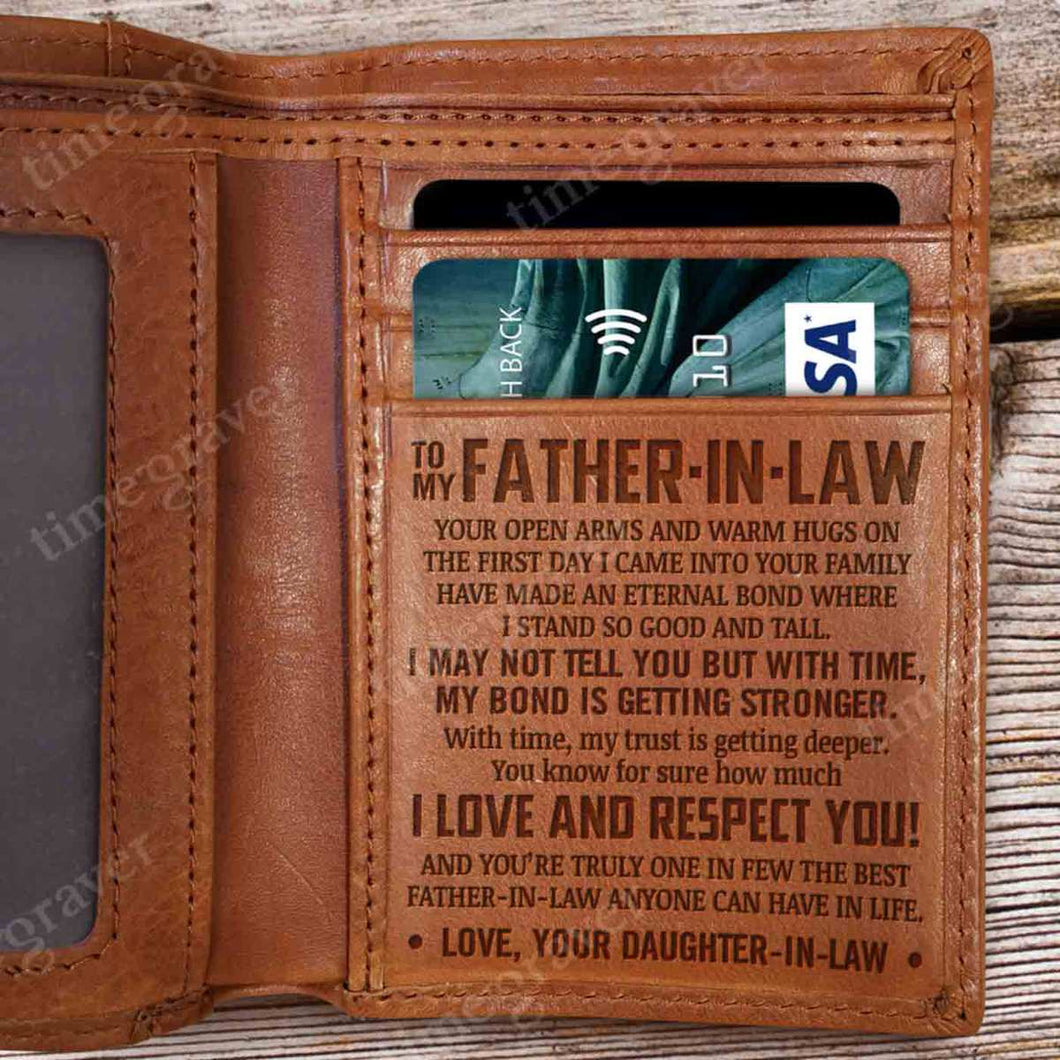 RV0555 - A Caring Father - Wallet