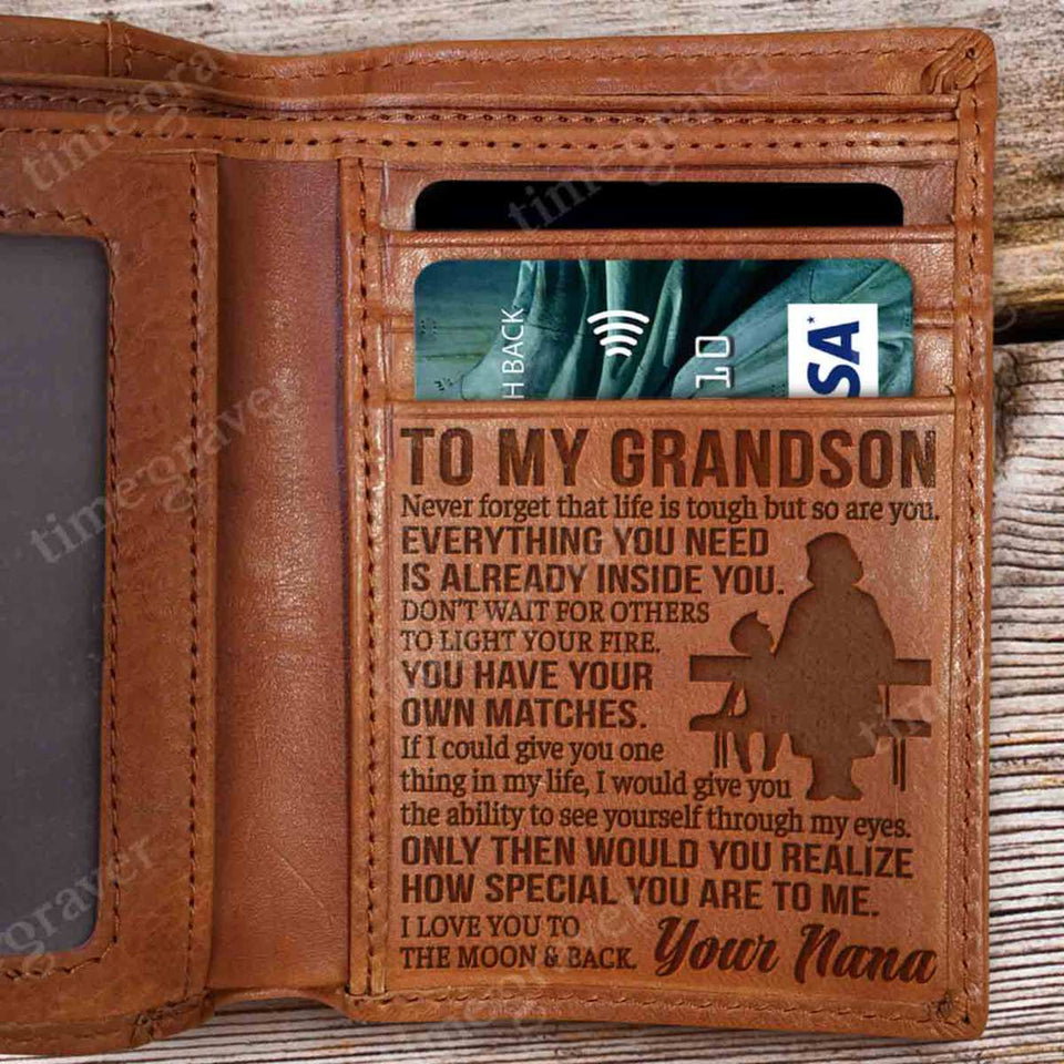 RV0917 -  Life Is Tough - Wallet