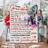 RN0948 - Always Stand By Me - Blanket