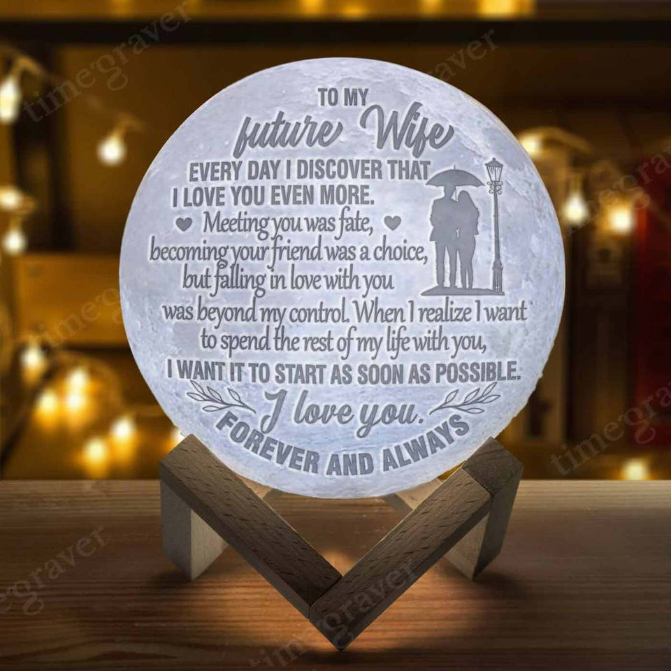 M1146 - My Future Wife - Moon Lamp