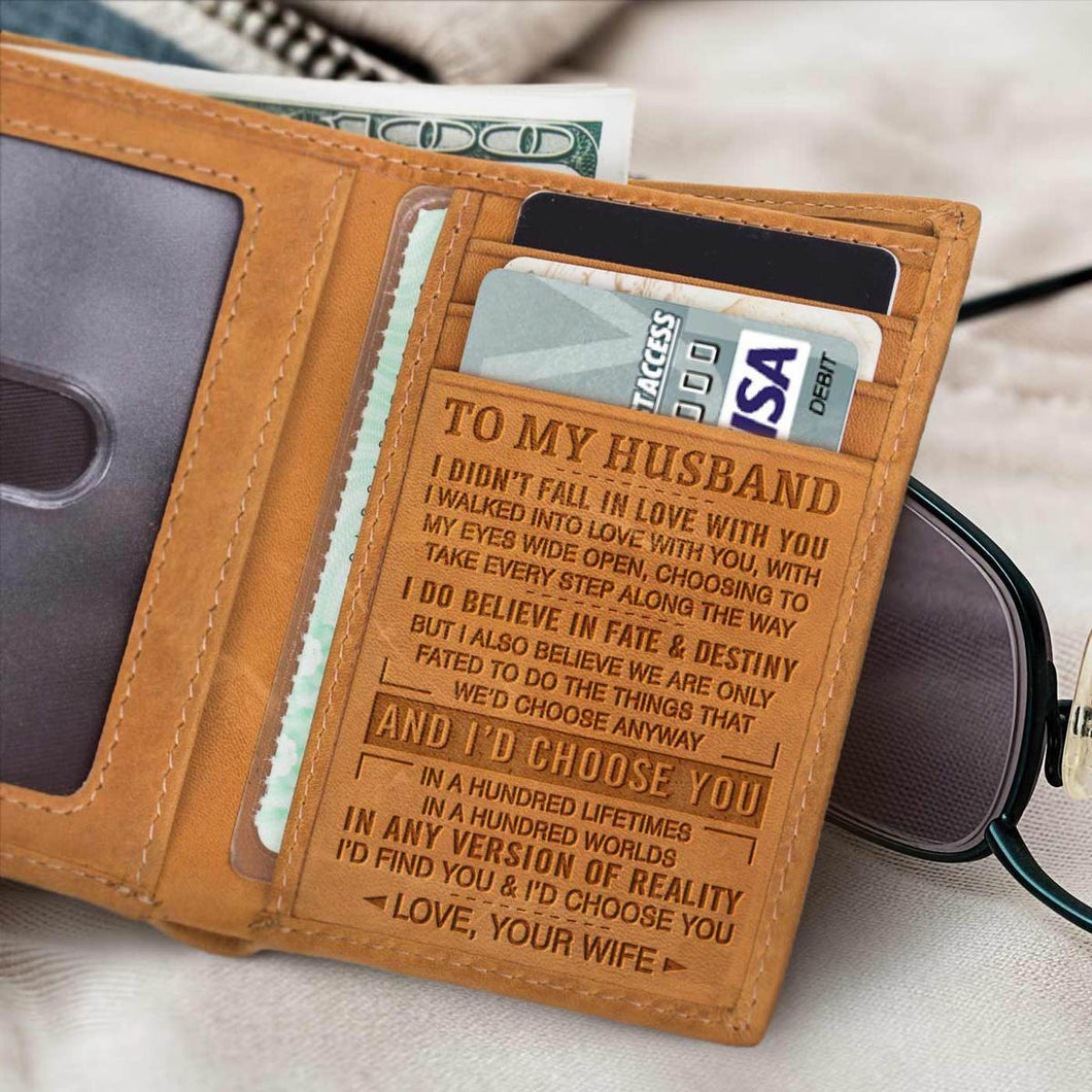 RE2164 - Every Step - Trifold Wallet