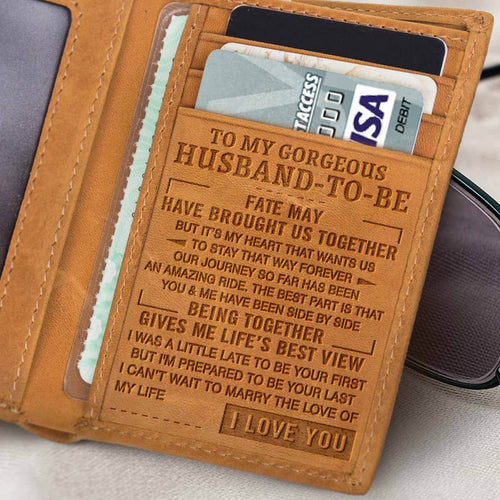 RE2165 - To Be Your Last - Trifold Wallet