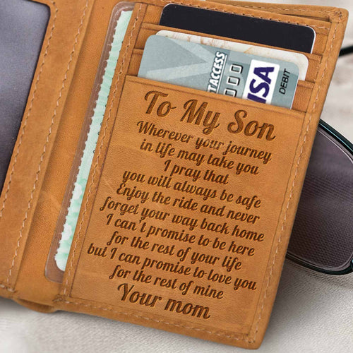 RE2252 - Way Back Home - Trifold Wallet