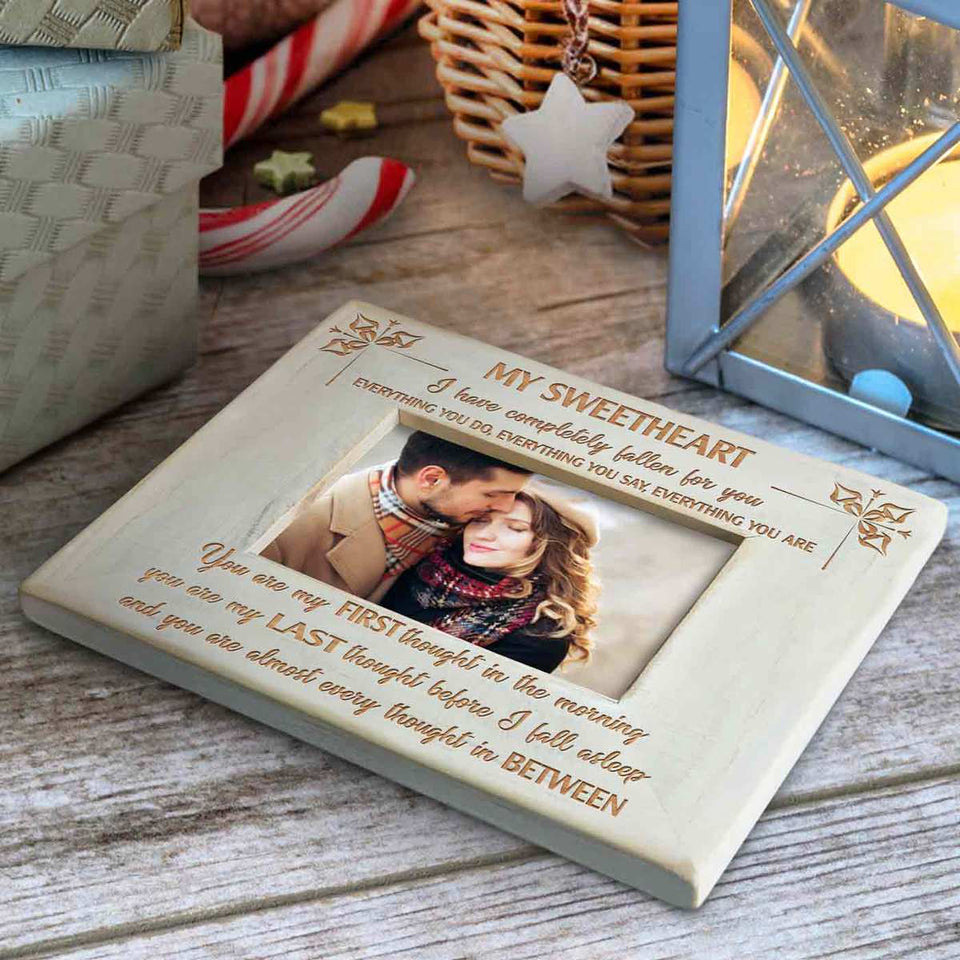 AB2267 - Fallen For You - Wood Frame