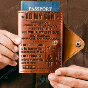 ZD2317 - Enjoy the ride - Passport Cover