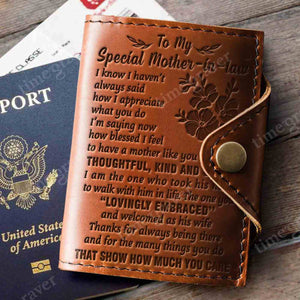 ZD2359 - Lovingly Embraced - Passport Cover