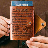 ZD2360 - Like The Ocean - Passport Cover