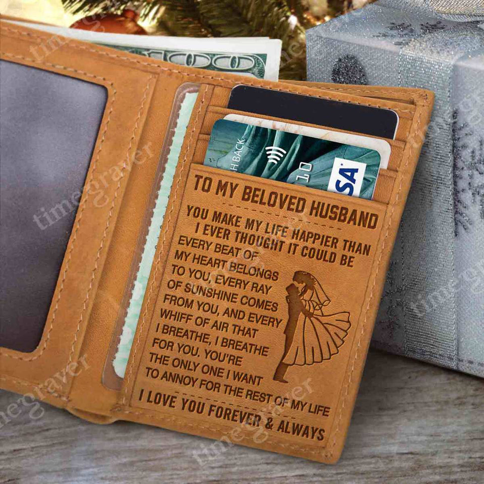 RE2437 - I Breathe For You - Trifold Wallet
