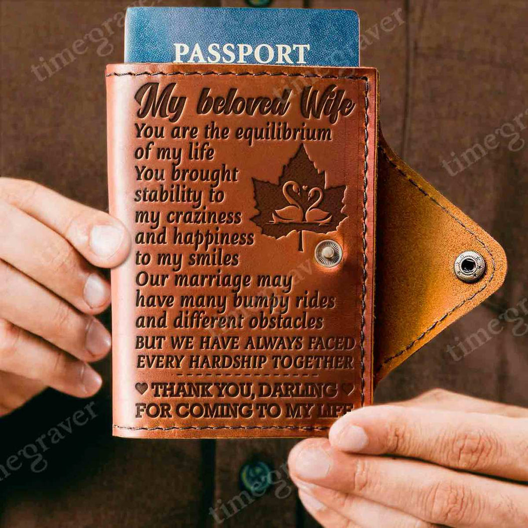 ZD2449 - Thank You, Darling - Passport Cover