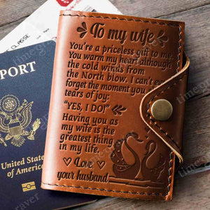 ZD2450 - Yes, I Do - Passport Cover