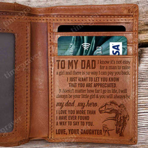 RV0625 - My Dad, My Hero - Wallet