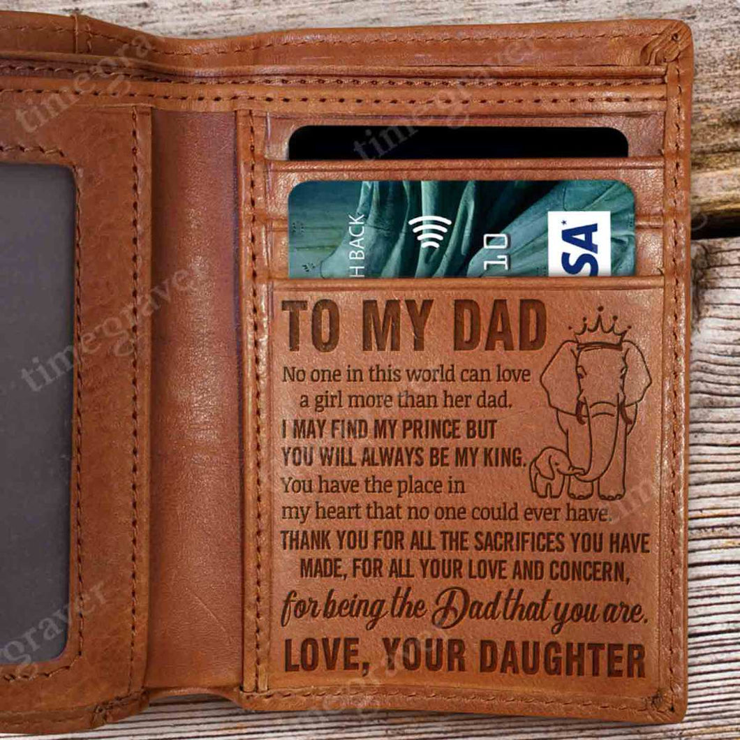 RV0634 - Always Be My King - Wallet