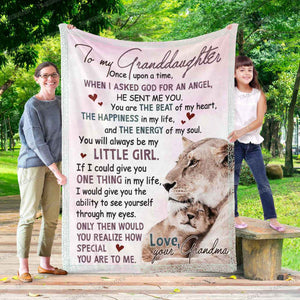 RN0814 - God Sent Me An Angel - Blanket