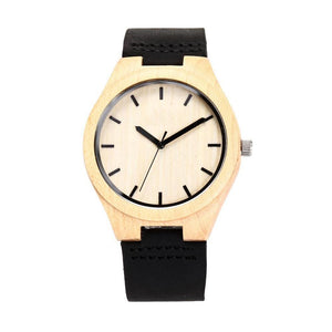 X03 Custom Engraved Wooden Watch For Men