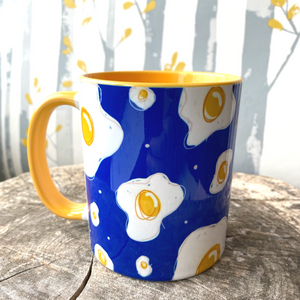 Egg Pattern Mug - The Argentum Design Co