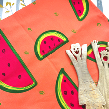 Load image into Gallery viewer, Watermelon tea towel - The Argentum Design Co