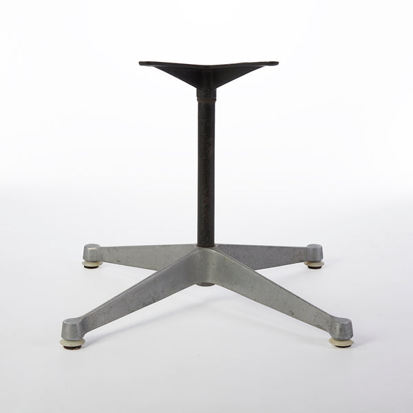 Rear view of glide contract base for Eames side and arm shells