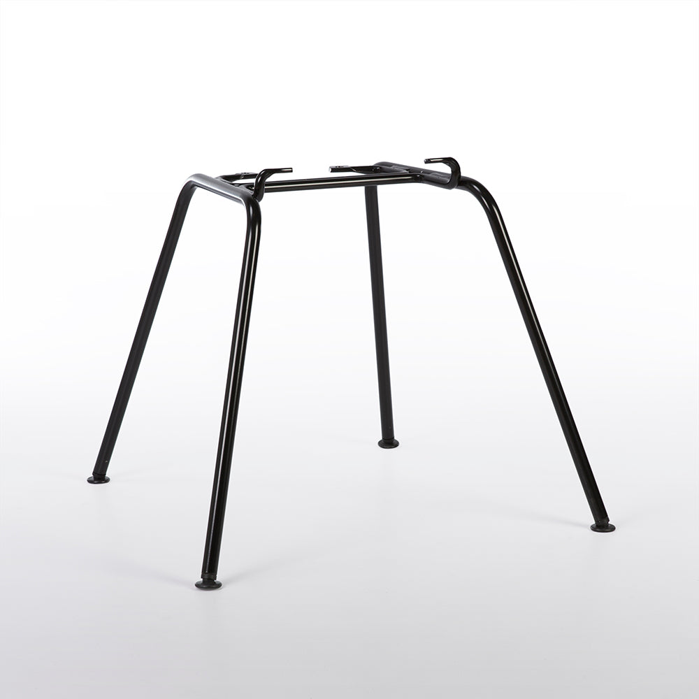 Black Herman Miller 'H' Base for Eames Arm and Side Shell Chairs