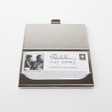 Image of bio card included in Eames 'Chair Designs' business card holder