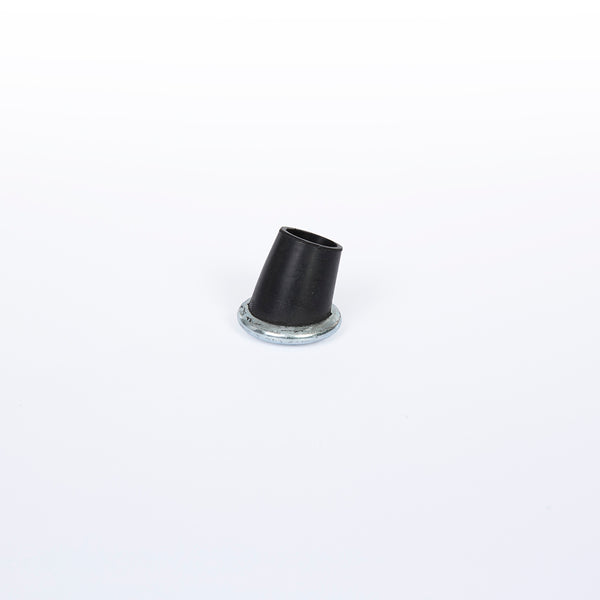 Front view of Replacement Eames Herman Miller 'Boot Glides' For 'X' Base