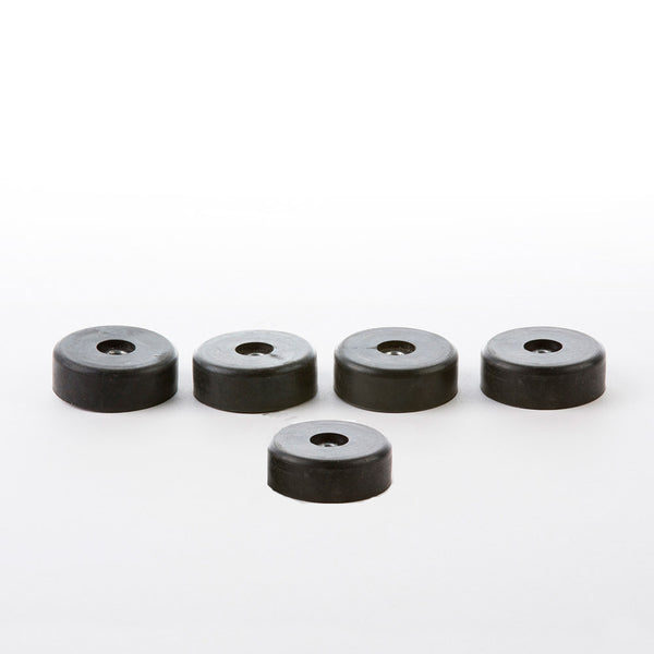 Full Set of DCM Shock Mounts Black Rubber