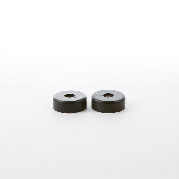 Pair of Eames DCM Shock Mounts in Black Rubber