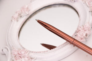 Heart Rose Gold Pen