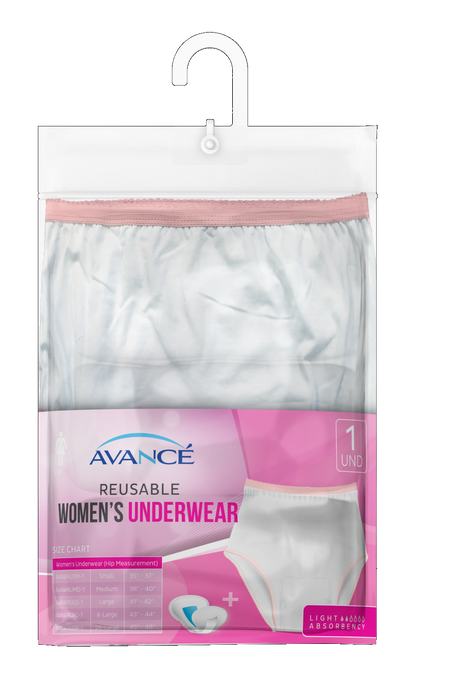 Avancé Women's Reusable Incontinence Underwear