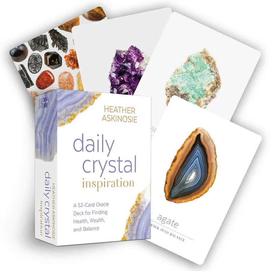 Daily Crystal Inspirational Oracle Deck || Heather Askinosie