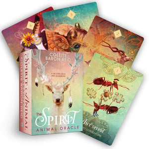 The Spirit Animal Oracle Deck & Guidebook || Colette Baron-Reid